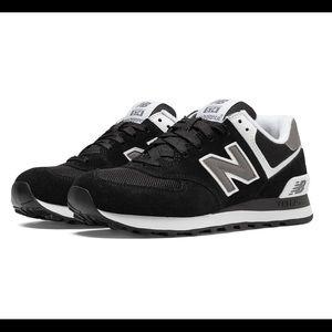New Balance 574 - Women's Shoes Black Size 9